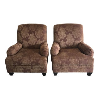 Ethan Allen Traditional Club Chairs - A Pair