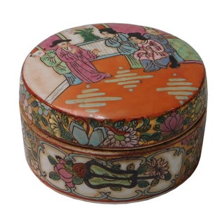 Chinese Decorative Porcelain Box
