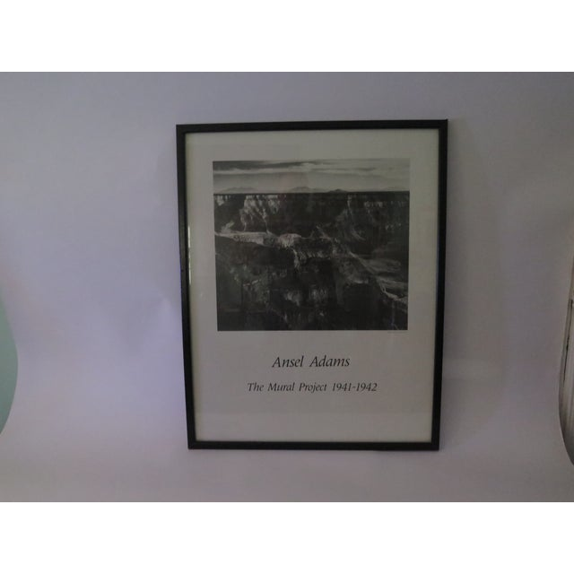Vintage ansel adams mural project poster chairish for Ansel adams mural