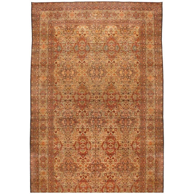 Image of Exceptional Antique Lavar Carpet