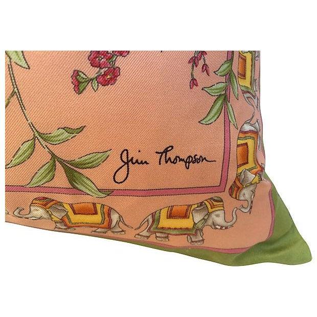 Image of Thai Silk Scarf Pillows- A Pair