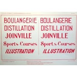 Image of French Art Deco Typography Sheet