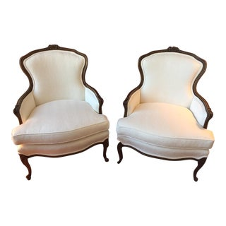 Vintage French Occasional Chairs - A Pair