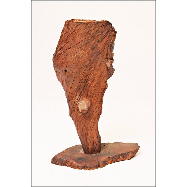 Image of Vintage Driftwood Sculpture