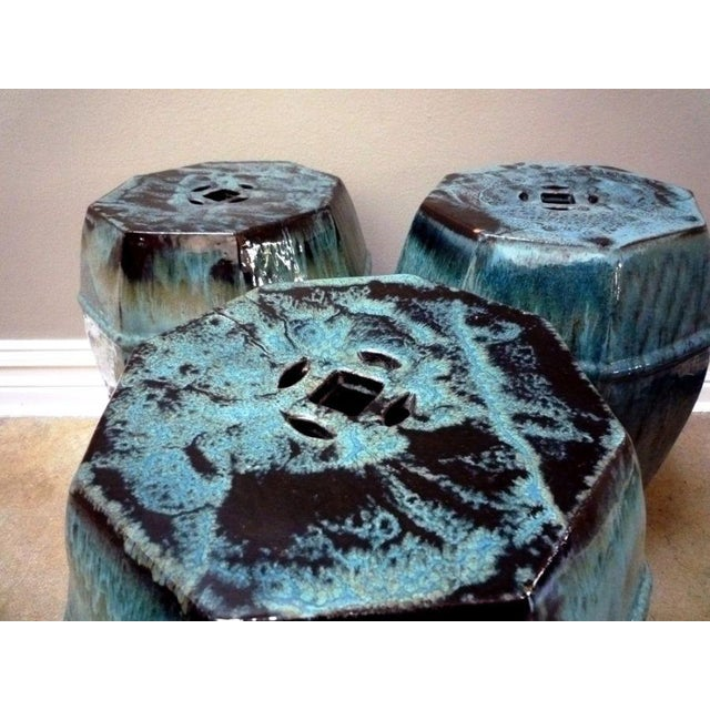 Glazed Garden Stool - Image 2 of 6