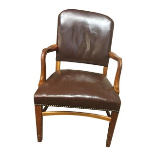 Vintage Gunlocke Arm Chair