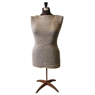Vintage Adjustable Stand Dress Form