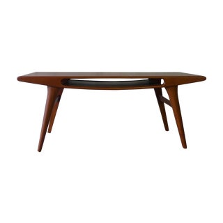 Mid Century Modern Styled Teak Coffee Table
