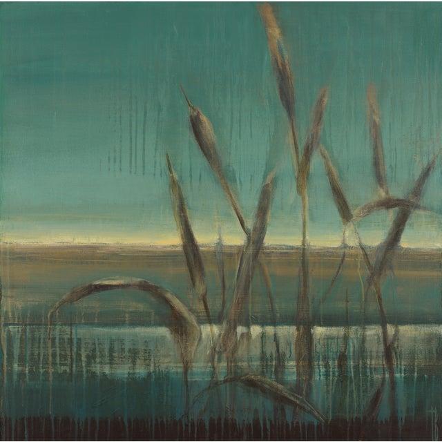"""Terri Burris """"Cattails"""" Original Painting - Image 1 of 2"""