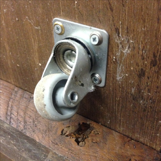 Antique European Trunk With Hidden Casters - Image 7 of 7