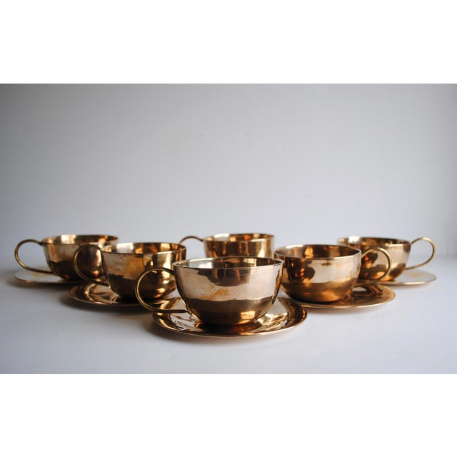 Vintage Cups & Saucers - Set of 6 - Image 4 of 5