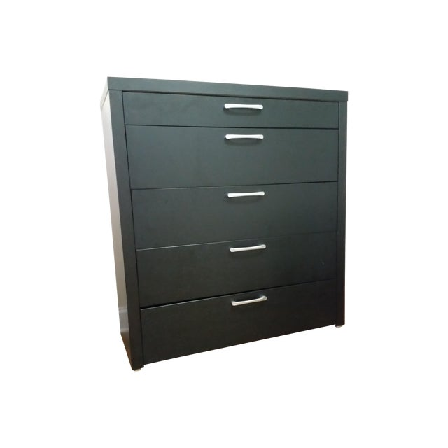 Image of West Elm Dark Brown Dresser