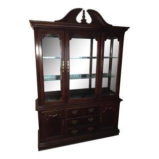 Thomasville Queen Anne China Cabinet