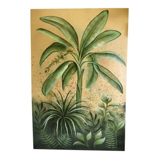 Tropical Original Signed Painting on Canvas