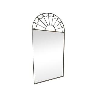Deco Brass Mirror