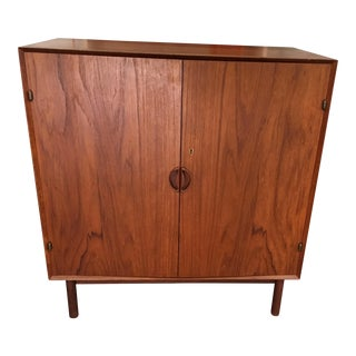 1950s Teak Danish Modern Cabinet