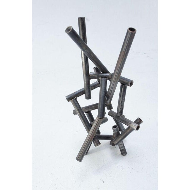 Metal Pipe Sculpture - Image 4 of 9