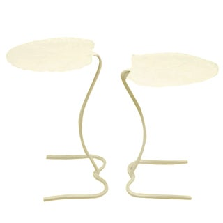 Salterini Nesting Lily Tables - A Pair