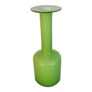 LSA Green Cylinder Vase