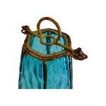 Image of Vintage Turquoise Italian Murano Glass Pendant