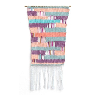 Layered Woven Wall Hanging Textile Art