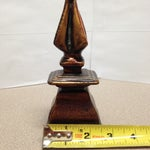 Image of Gold Rustic Finial Figurine