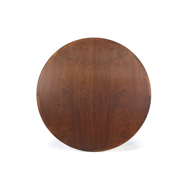Rosengren Hansen Round Walnut Dining Table - Image 9 of 9