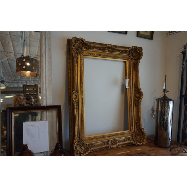 Oversized Gilded Picture Frame - Image 4 of 4