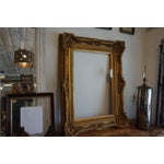 Image of Oversized Gilded Picture Frame