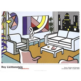 Interior With Skyline Collage by Roy Lichtenstein