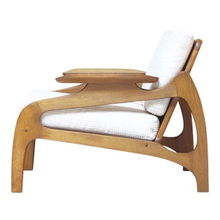Adrian Pearsall Attributed Mid-Century Club Chair