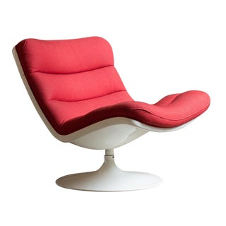 Geoffrey Harcourt F976 Swivel Lounge Chair