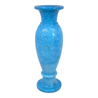 Turquoise Blue Stone Vase