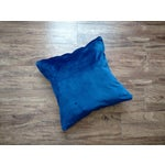 Image of Gambrell Renard Leather & Velvet Pillow