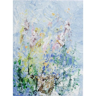 "Martha Holden ""Spring Flowers"" Oil Painting"