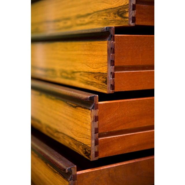 Mid Century Westnofa Rosewood Highboy Dresser - Image 4 of 11