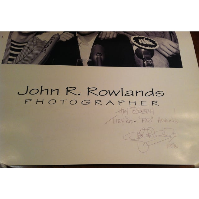 Beatles Press Conference Signed Photograph - Image 5 of 10