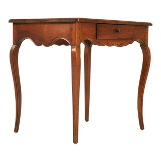 18th C. Antique French Louis XV Walnut Table