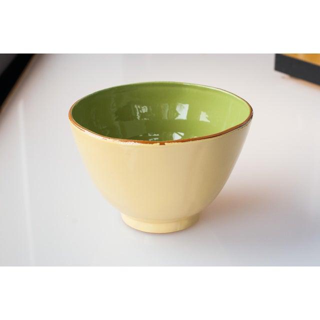 Vietri Earthenware G/Y Round Serving Dish - Image 2 of 3
