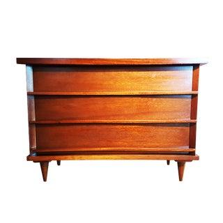Mid-Century Modern Teak Wood Dresser