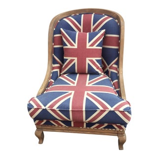 Union Jack Club Chair