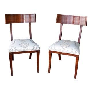 Klismos Dining Chairs - A Pair