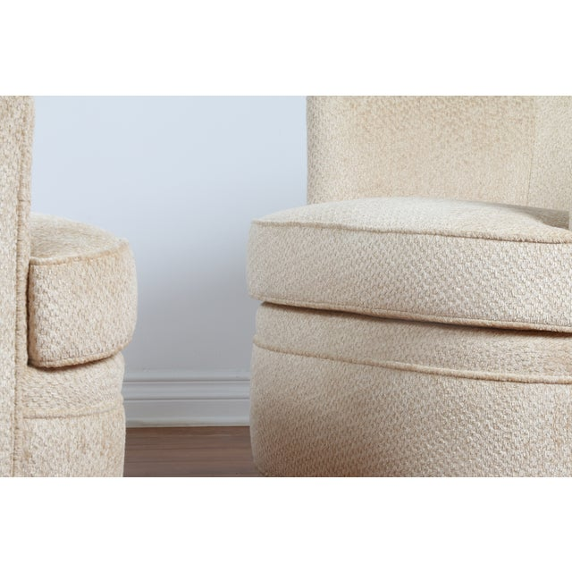 Swivel Vintage Beautiful Chairs - Pair - Image 10 of 10