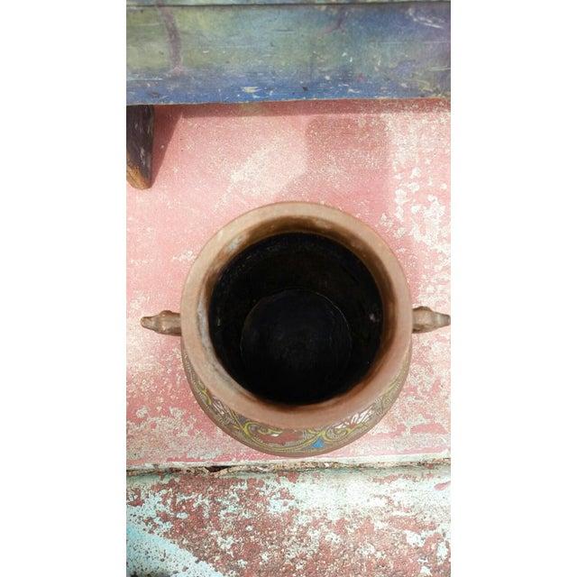 Japanese Vintage Inlaid Vase - Image 5 of 6