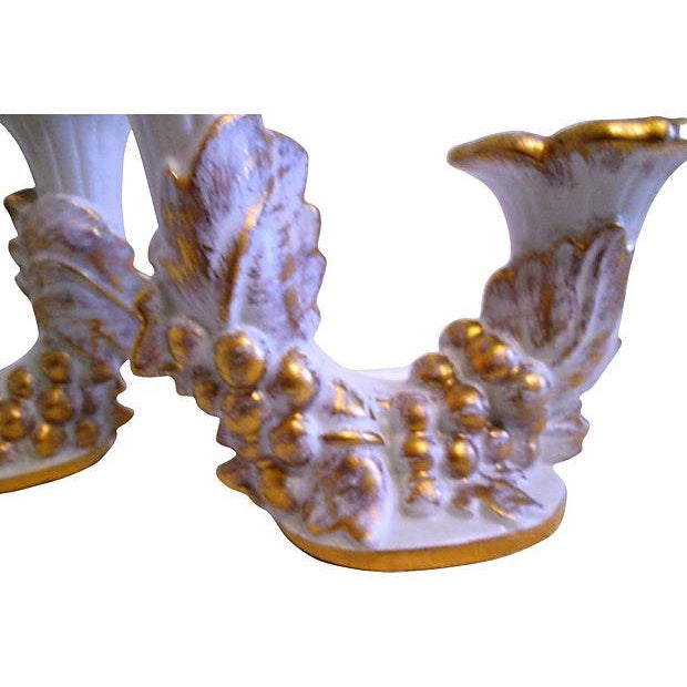 Mid-Century Royal Haeger Gold Centerpiece Set - Set of 3 - Image 6 of 7