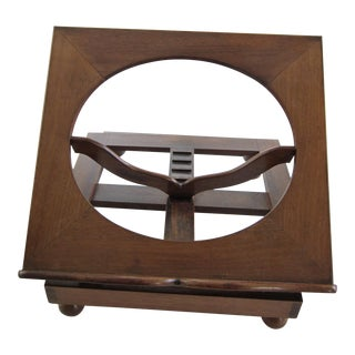 Antique Lectern Walnut Book Stand