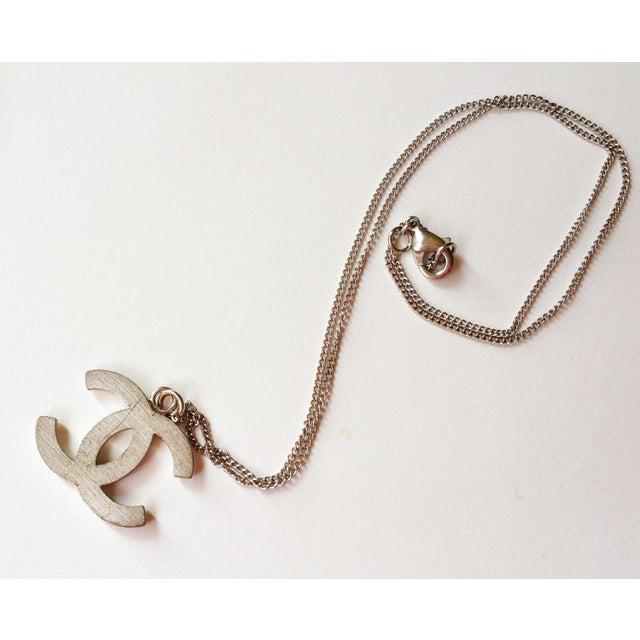 Image of  Chanel Blink CC Square Rhinestone Necklace