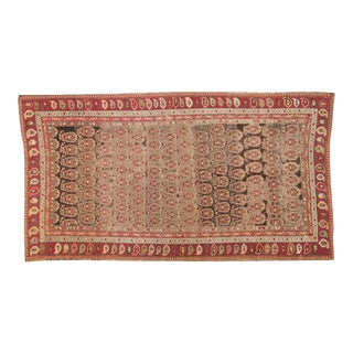 "Antique Karabagh Carpet - 5'2"" x 9'4"""