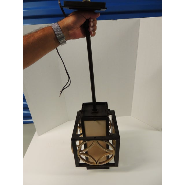 Formation Style Square Hanging Lantern - Image 4 of 5