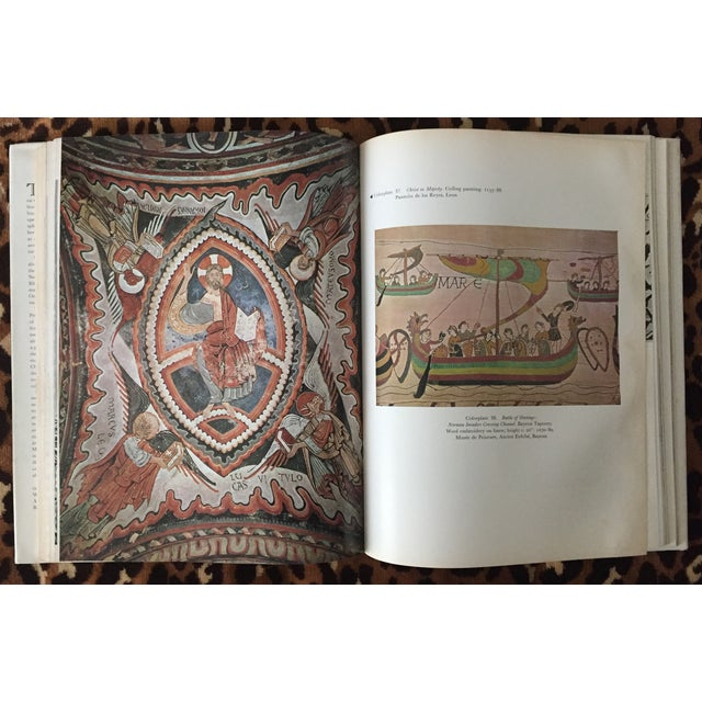 """""""Art Of The Medieval World"""" Coffee Table Book 1975"""